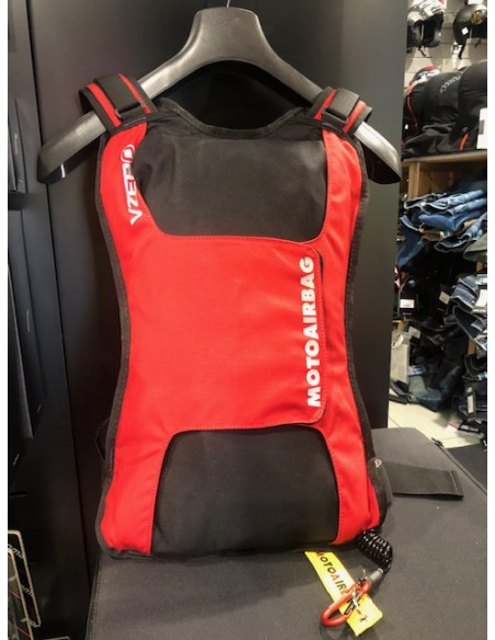 Gilet airbag MAB motoairbag Vzero rosso vendita online Como
