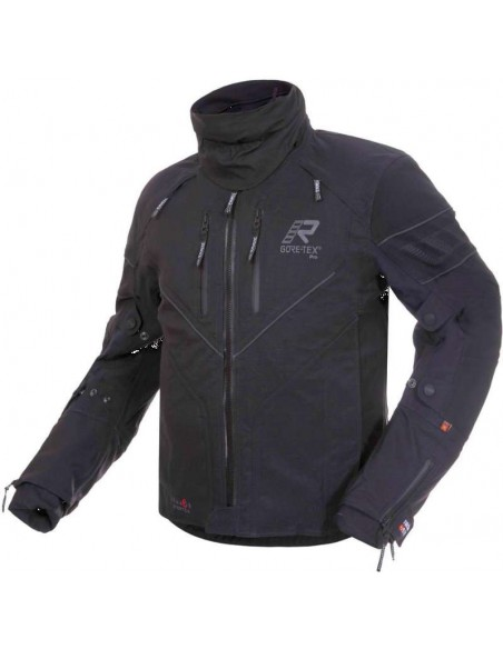 abbigliamento moto rukka giacca realer nero goretex