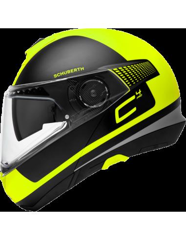 casco moto modulare SCHUBERTH C4-pro legacy yellow vendita online Como