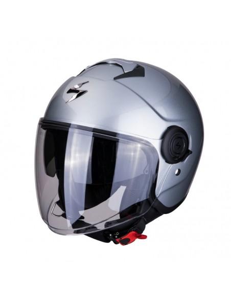 casco moto jet SCORPION EXO city  solid silver vendita online Como