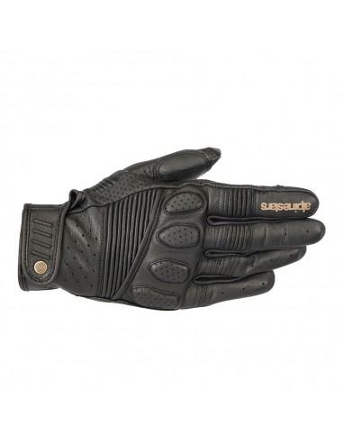 guanti moto alpinestars crazy eight black black vendita online Como
