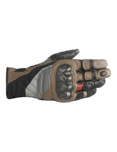 guanti moto alpinestars belize drystar black tobacco brown red vendita online Como
