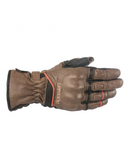 guanti moto alpinestars cafe divine drystar brown black vendita online Como