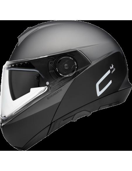 casco moto modulare schuberth C4pro swipe grey