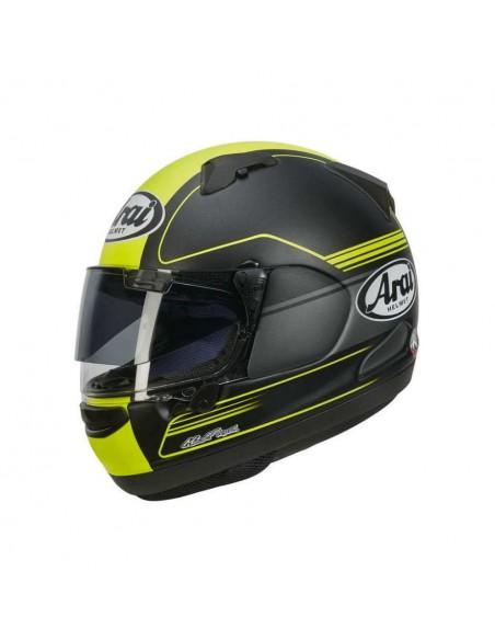 casco moto integrale ARAI QV-PRO FOCUS giallo tg.L