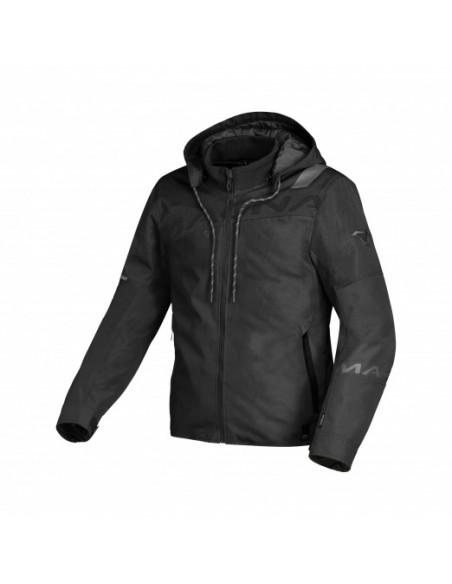 giacca moto MACNA Racoon black in vendita online a Como