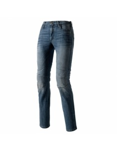 jeans moto Clover SYS-4 blu...
