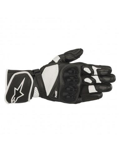 guanti moto alpinestars sp 1 v2 black white vendita online Como