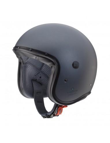 casco moto jet CABERG Freeride antracite vendita online Como