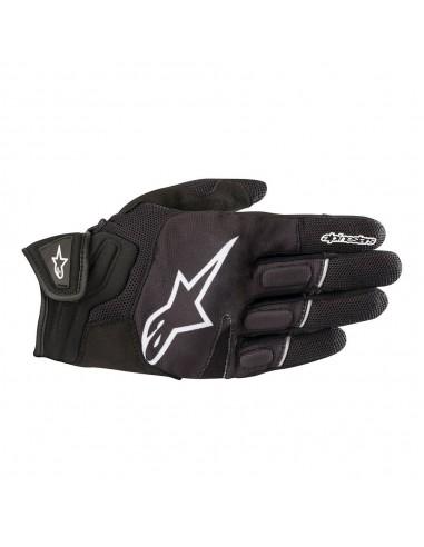 guanti moto alpinestars atom black white vendita online Como