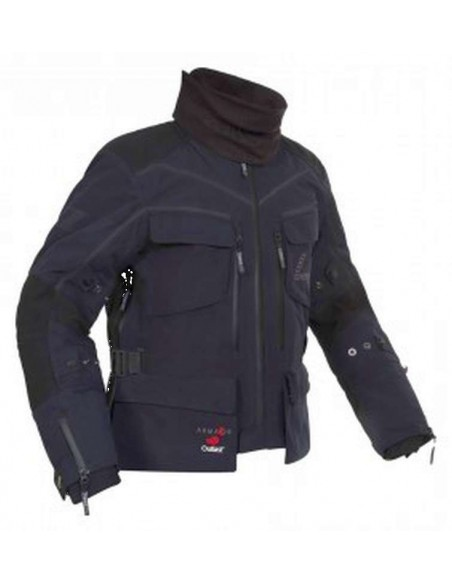 abbigliamento moto rukka giacca energater nero goretex