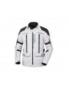 Giacca moto TUR J-two grigio nero vendita online Como