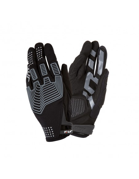 Guanto moto TUR G-three nero vendita online Como