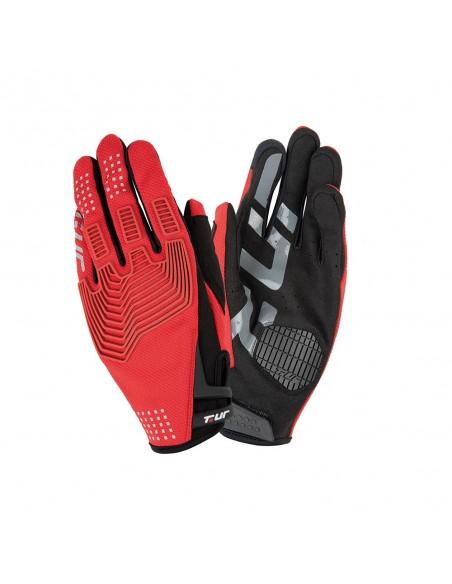 Guanto moto TUR G-three rosso vendita online Como