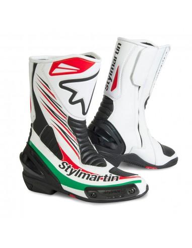 stivali moto racing bambino STYLMARTIN dream rs bianco vendita online Como
