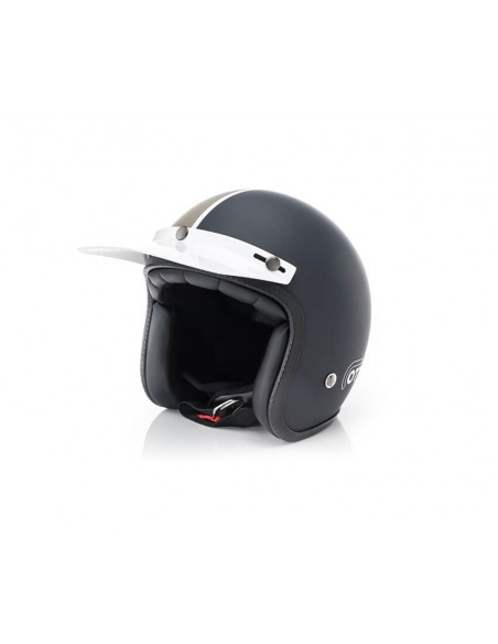casco moto jet ottano acerbis blu marrone vendita online Como