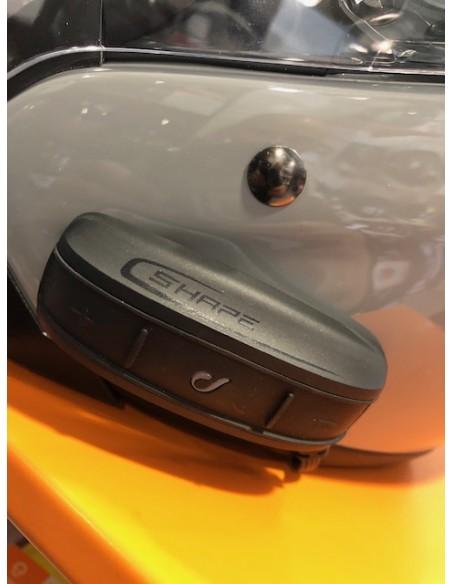 interfono casco moto CELLULAR LINE Shape X2 comunicazione pilota passeggero vendita online Como