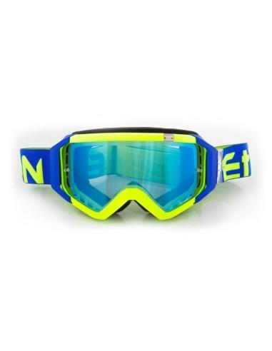 maschera cross ETHEN 05 giallo fluo-blu vendita online Como