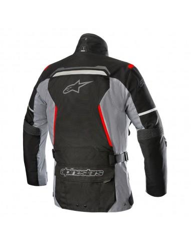 giacca moto alpinestars bogota' v2 drystar jacket black dark gray vendita online Como